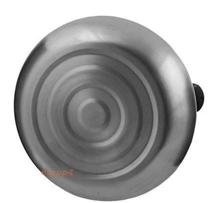 Czajnik Edenberg EB 1324 W brązowa rączka z gwizdkiem stalowy GAZ