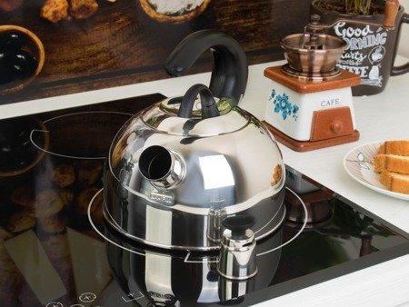Czajnik KingHoff KH 3250 stalowy indukcyjny z gwizdkiem