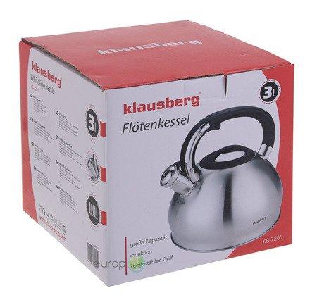 Czajnik Klausberg KB 7205 z gwizdkiem