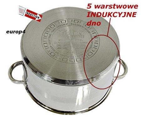 Garnek Edelhoff EH 9134 z pokrywką pojemność 10 L