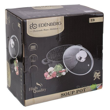 Garnek Edenberg EB 1655 MARMUROWY pojemność 6.7 L