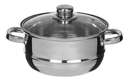 Garnek Edenberg EB 8901 18 cm garnki do gotowania na parze