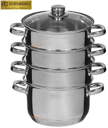 Garnek Edenberg EB 8903 18 cm garnki do gotowania na parze