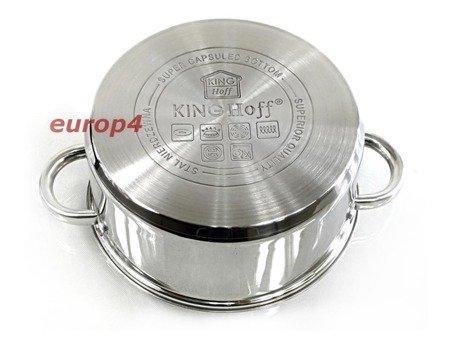 Garnek KingHoff KH 3316 garnki do gotowania na parze