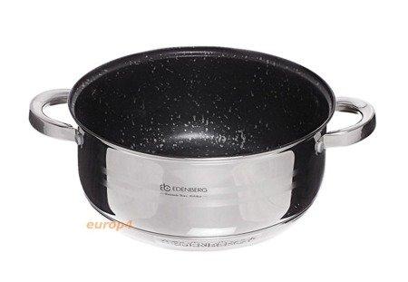 Garnki Edenberg EB 4012 Zestaw garnków stalowych indukcyjnych