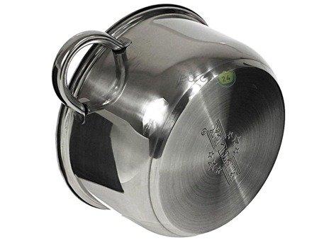 Garnki Metlex MX 8011 Zestaw stalowych garnków
