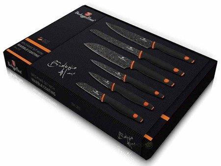 Garnki granitowe Zilner ZL 8516 Indukcja zestaw garnków z nożami