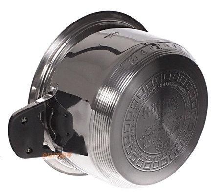 Garnki stalowe Hoffner HF 8895 zestaw garnków stalowych