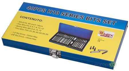 Klucze Onex OX 752 Torx Hex Spline Bit Zestaw kluczy 40 Elementów