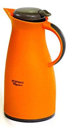 Konferencyjny termos Hoffner HF 3608 pojemnik dzbanek 1L pomarańczowy