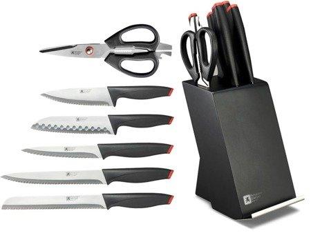 Noże New Laser Richardson Sheffield Zestaw noży kuchennych 6 cz. w bloku