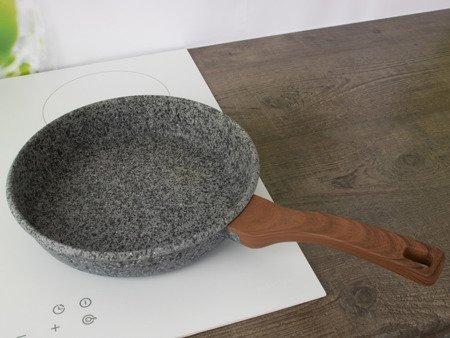 Patelnia EdelHoff EH 7573 - 28 cm Granitowa powłoka