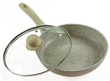 Patelnia Granitowa Indukcyjna EdelHoff EH 6070 A - 20 cm