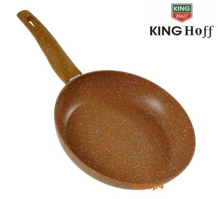 Patelnia KingHoff KH 3669 - 26 cm Powłoka marmurowa
