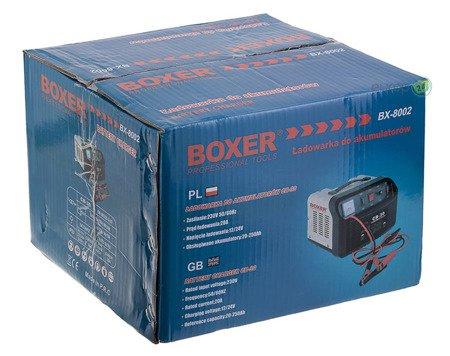 Prostownik do ładowania akumulatorów Boxer BX 8002 20A
