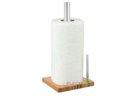 Stojak KingHoff KH 3921 na ręczniki papierowe drewno + metal