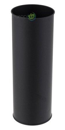 Szczotka Metlex MX 0686 pojemnik do WC Toalety Łazienkowa czarna