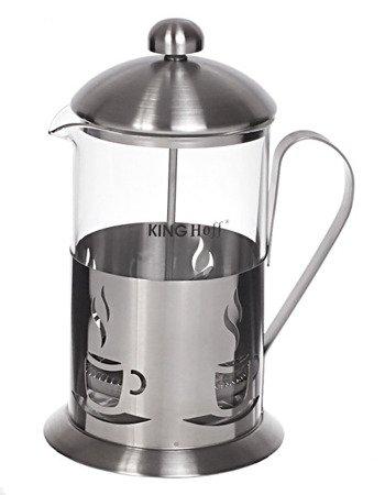 Szklany zaparzacz KingHoff KH 4832 do herbaty 800 ml ziół kawy dzbanek