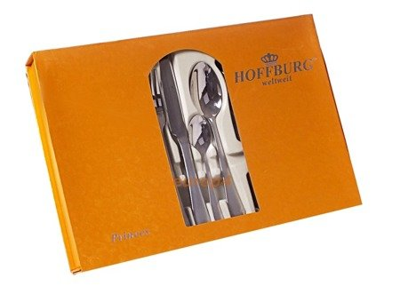Sztućce HoffBurg zestaw komplet widelce łyżki wybór