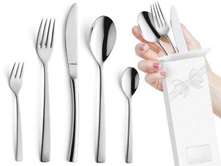 Sztućce obiadowe Amefa Aurora 9065 30 elementów dla 6 osób 18/10