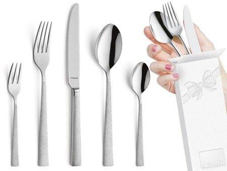 Sztućce obiadowe Amefa Jewel 8010 5 elementów dla 1 osoby 18/10