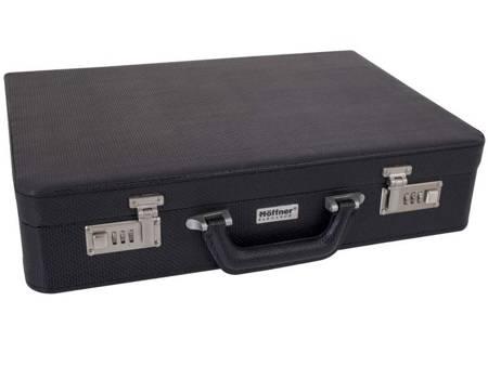 Sztućce w walizce Hoffner HF 2700 72 elementy 12 osób zestaw widelce+łyżki+walizka połysk
