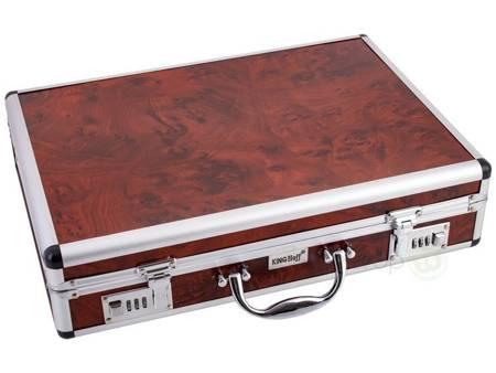 Sztućce w walizce KingHoff EH 3553 72 elementy 12 osób zestaw widelce+łyżki+walizka satyna