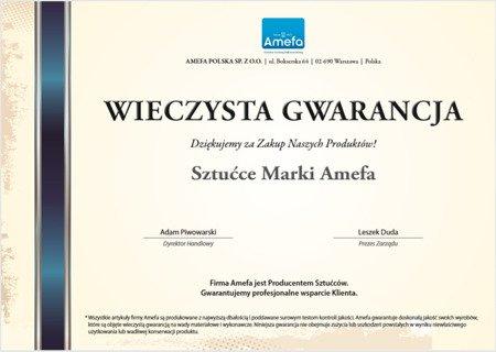 Sztućce weselne Amefa Chopin 8420 zestaw 48 sztuk na przyjęcie