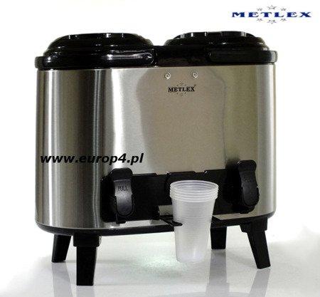 Termos Metlex MX 7415 2x6 l gastronomiczny cateringowy +kran