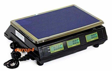 Waga Maxon MX 1040 SKLEPOWA MAGAZYNOWA elektroniczna +akumulatorowa
