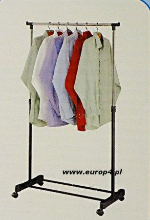 Wieszak stojak na kółkach Metlex MX 3045 ubrania garderob