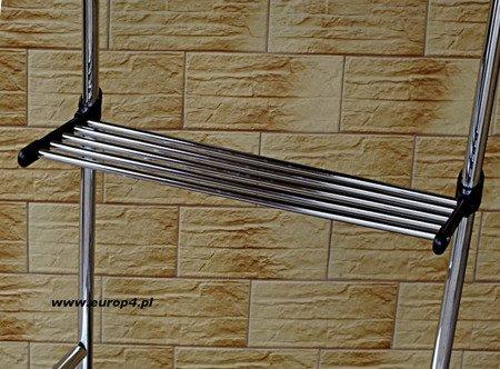 Wieszak stojak na kółkach Metlex MX 3074 ubrania garderoba