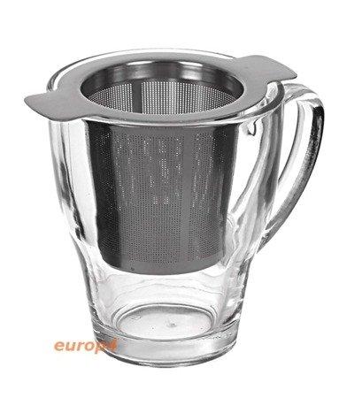 Zaparzacz KingHoff KH 4604 sitko do herbaty ziół kawy metalowy