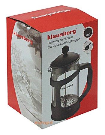 Zaparzacz szklany do herbaty Klausberg KB 7114 kawy 1L dzbanek