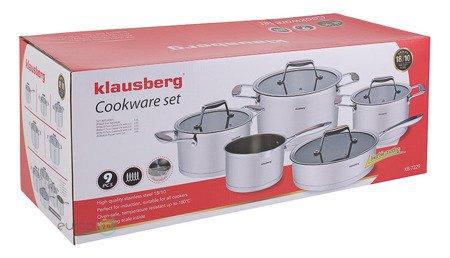 Zestaw garnków stalowych Klausberg KB 7229