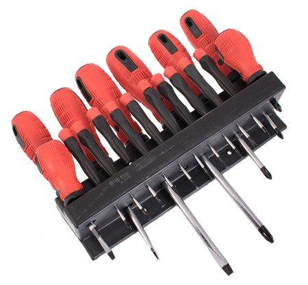 Zestaw śrubokrętów Sedy HK 107 Wkrętaków 18 elementów Komplet